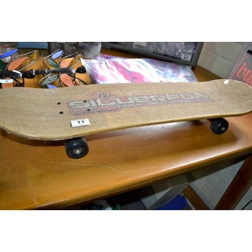 11 - Silverfox Skateboard...