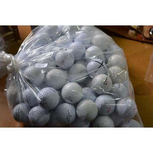 23 - Bag of Appx 100 Golf Balls...