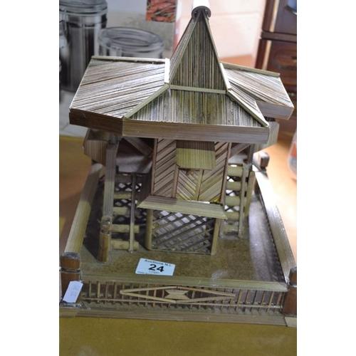 24 - Hand Crafted Pagoda House...