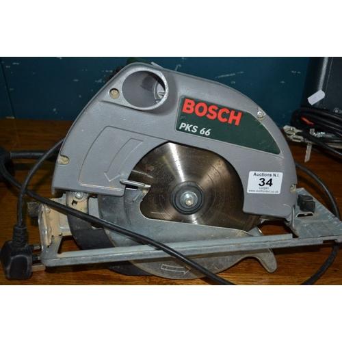 34 - Bosch Circular Saw...