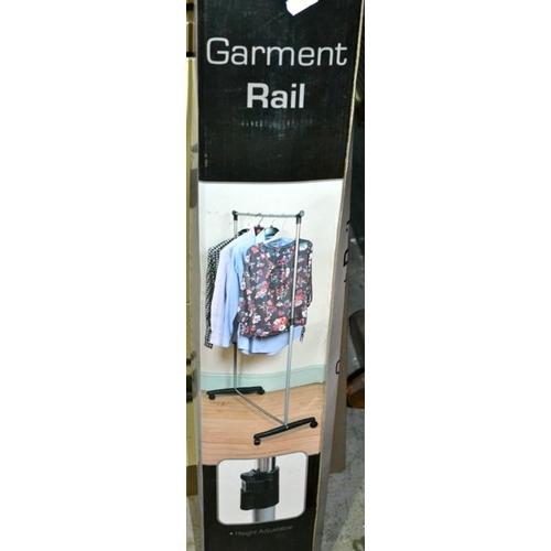 37 - Garment Rail x 2 - 1 Boxed...