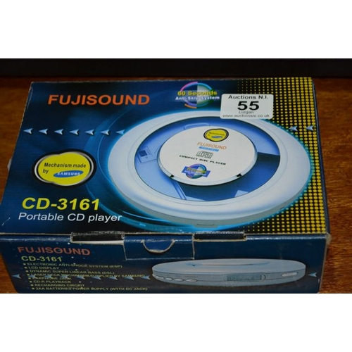 55 - Fujisound POrtable CD player...