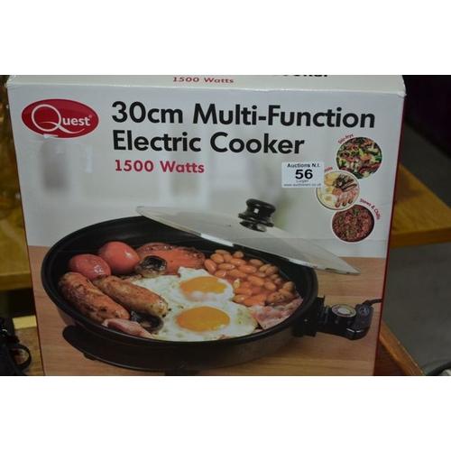 56 - Quest 30cm Multi-Function Electric Cooker...