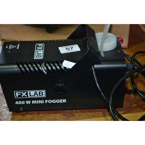 57 - FX Lab 400w Mini Fogger...
