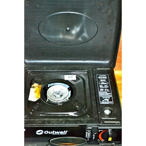 58 - Outwell Portable Gas Stove...