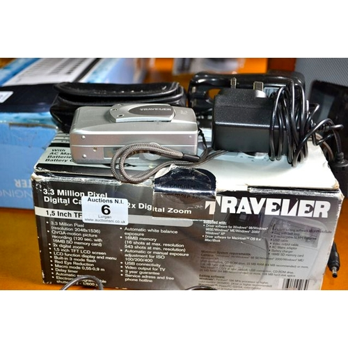 6 - Traveller Digital Camera...