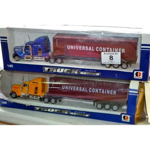 8 - Model Truck x 2...