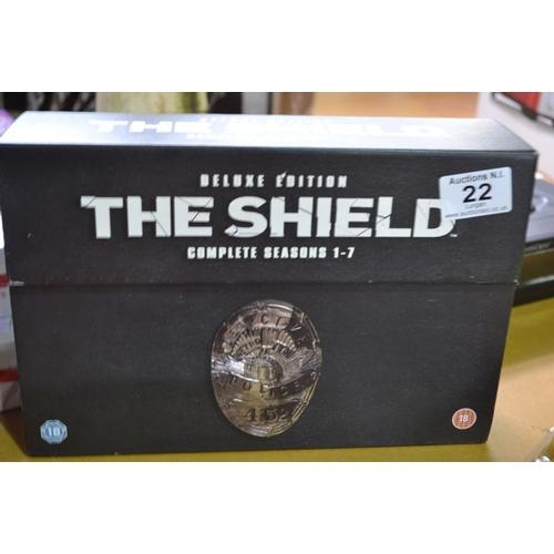 22 - The Shield Seasons 1-7...
