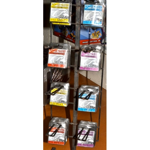 5 - Display Stand of Fishing Hooks...
