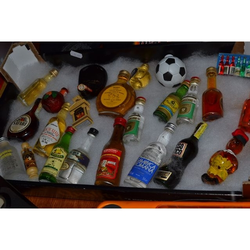 58 - Collection of Miniature Bottles...