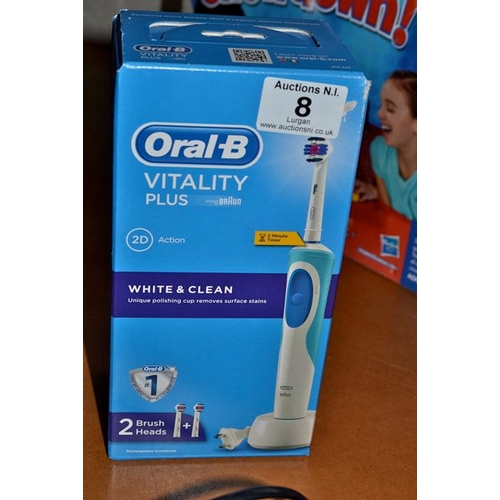 8 - Oral B Vitality Toothbrush...