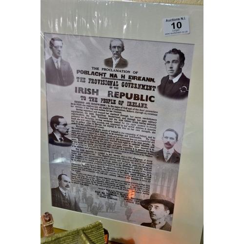 10 - New Mounted Irish Proclamation...