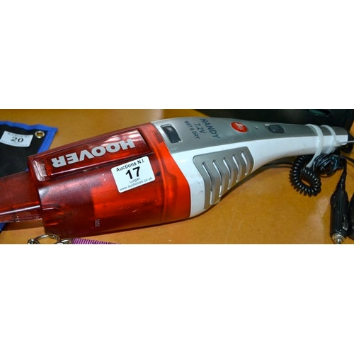 17 - Hoover Handy Wet & Dry Vac...