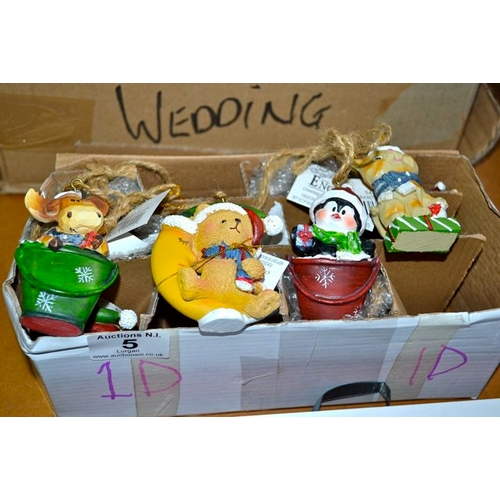 5 - Box of 12 Christmas Decorations...