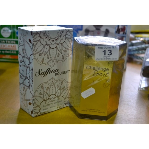 13 - Challenge Sport Perfume + Saffron Perfume...