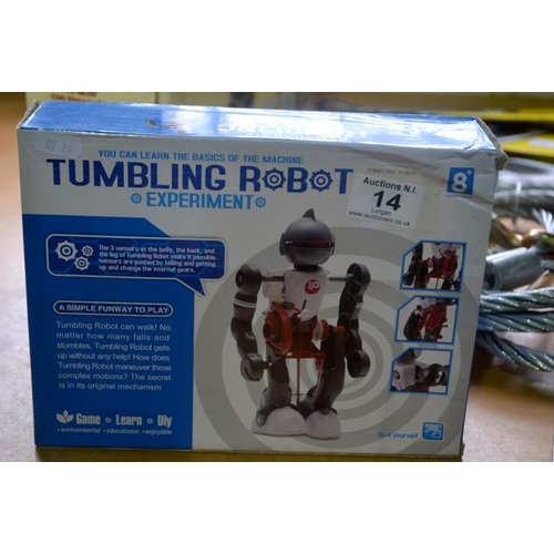 14 - Tumbling Robot Experiment...