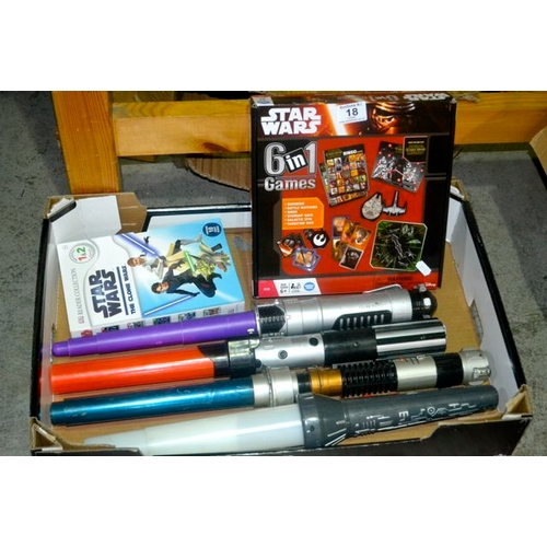 18 - Collection of Star Wars Toys...