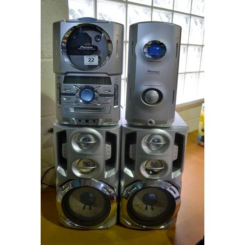 22 - Pioneer Sound System...