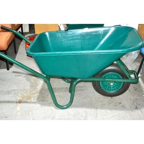 34 - New Plastic Wheelbarrow...