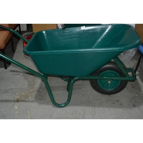 35 - New Plastic Wheelbarrow...