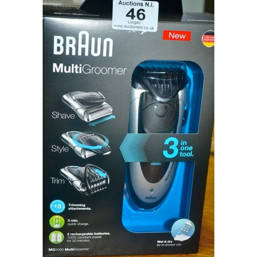 46 - Braun Multi Groomer - New...
