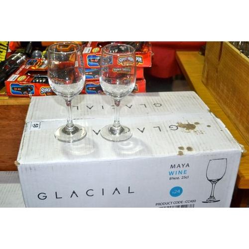 59 - Box of 24 Maya 25cl Wine Glass...
