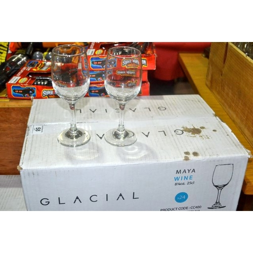 60 - Box of 24 Maya 25cl Wine Glass...