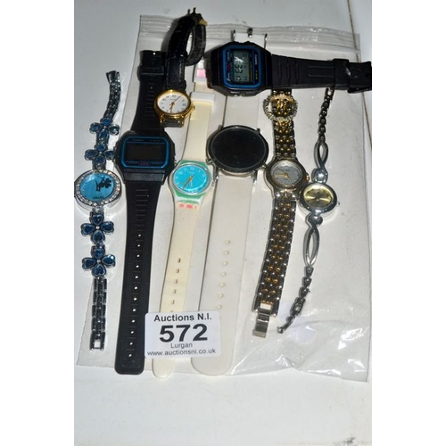 572 - Lot of Watches...