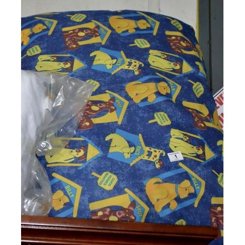 1 - Large Dog Bed...