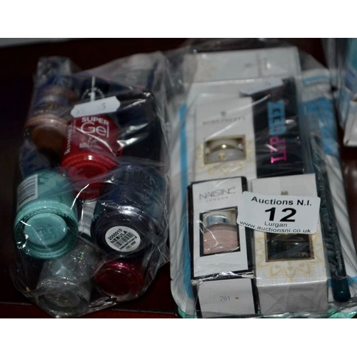 12 - 2x Cosmetic Gift Pack Incl Lots of Nail Varnish RRP £40-£50...