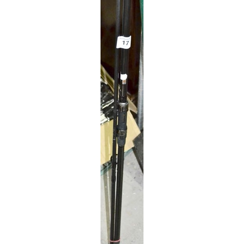 17 - Shakespeare Cypry Carp Fishing Rod...