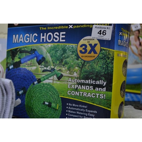 46 - 100' Magic Hose with Gun...