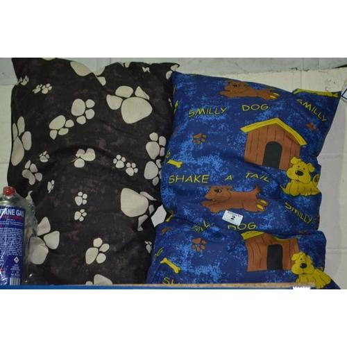 2 - 2x Dog Cushion...