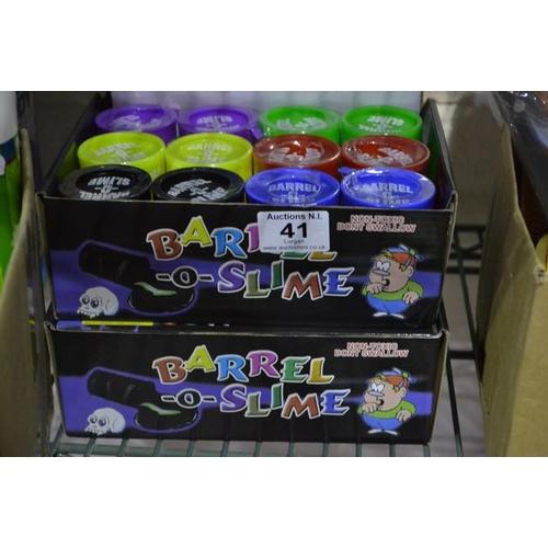 41 - 2x Box of Slime...