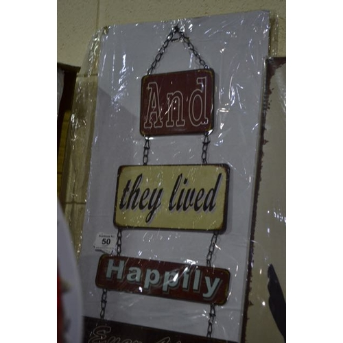 50 - New Happily Ever After Sign...