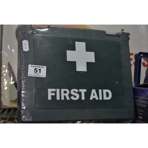 51 - New First Aid Box...