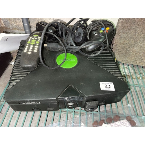 23 - Xbox with Controller