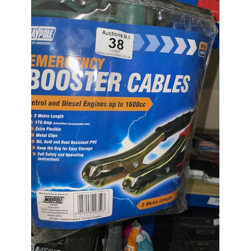 38 - Booster Cables