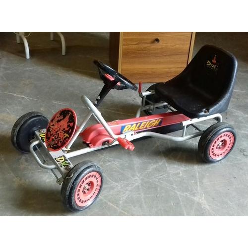 219 - Retro Raleigh go-kart...