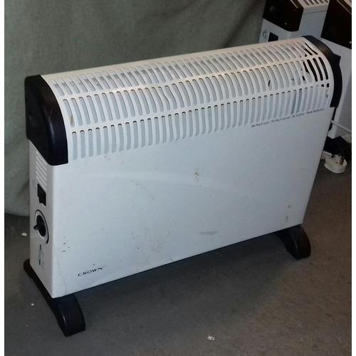 503 - Crown 2000 watt floor stand electric storage heater...
