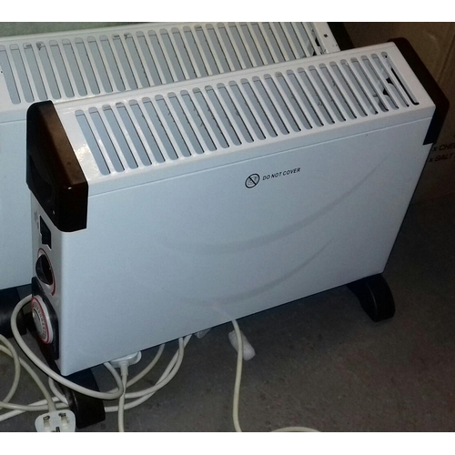 499 - Challenge 2 kw floor stand electric storage heater...