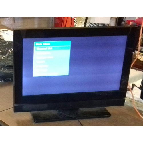 453 - Red model 26 inch HD digital LCD TV with remote...