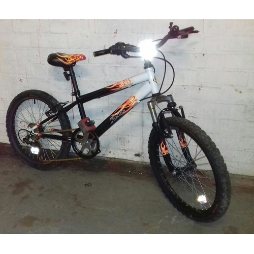 368 - Flame 6-speed childs 20 inch bike...