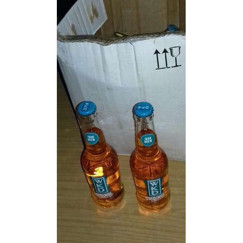 316 - Box of 10 x WKD Irn-Bru flavoured alcoholic bottled drinks...