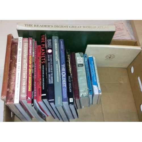 310 - Box of assorted miscellaneous books...