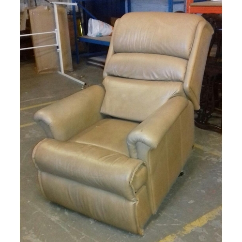 421 - Sherborne electric rise and recline chair...