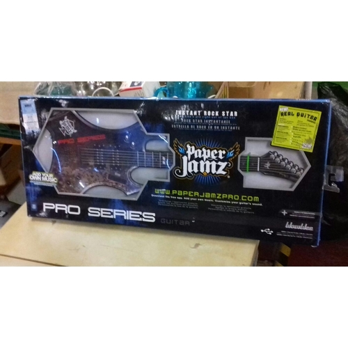 150 - Boxed Paper Jamz Pro Series guitar...