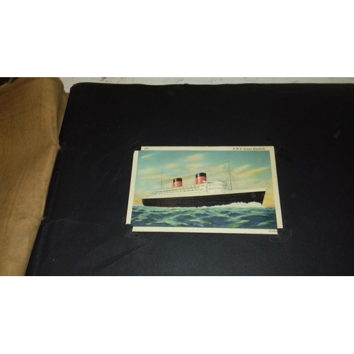 245 - 4 x vintage photo albums with assorted photographs...