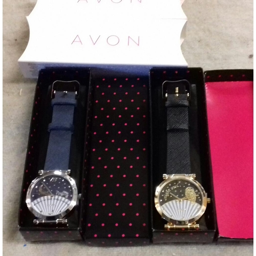 533 - 2 x new and boxed Avon watches...