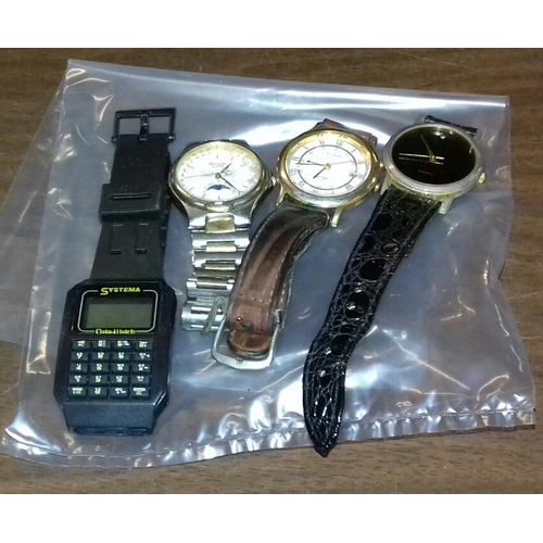 551 - Bundle of 4 x wristwatches...